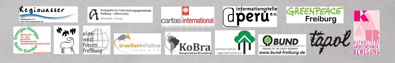 Foto mit Logos